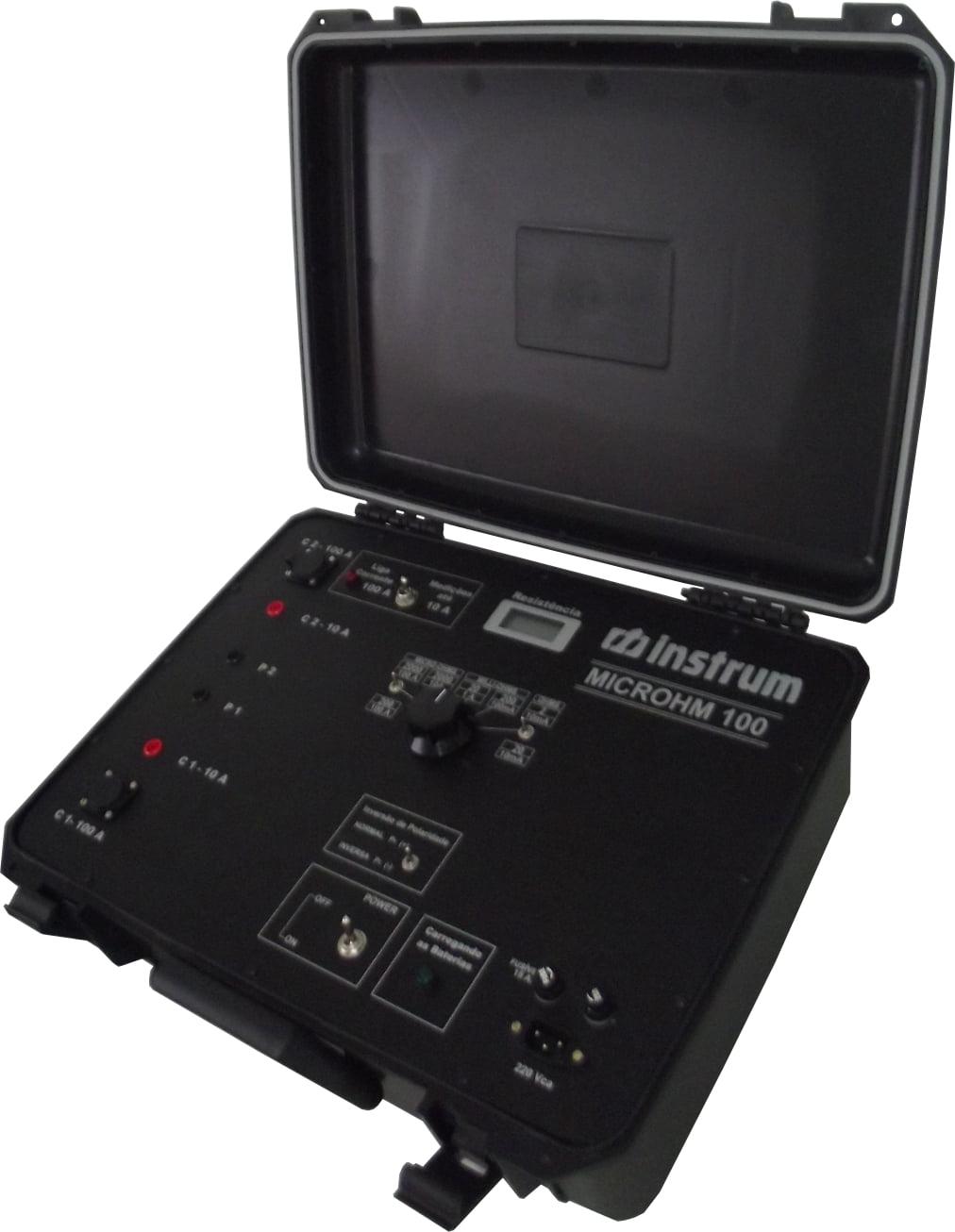 Micro-Ohmímetro Digital 100A Modelo: MICROHM-100 Marca: INSTRUM