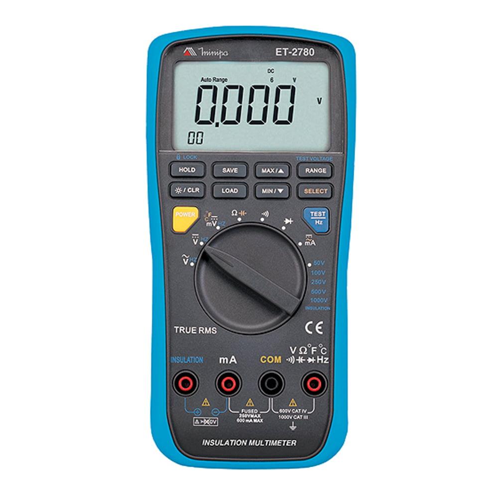 Mutímetro / Megômetro Digital ET-2780 MINIPA