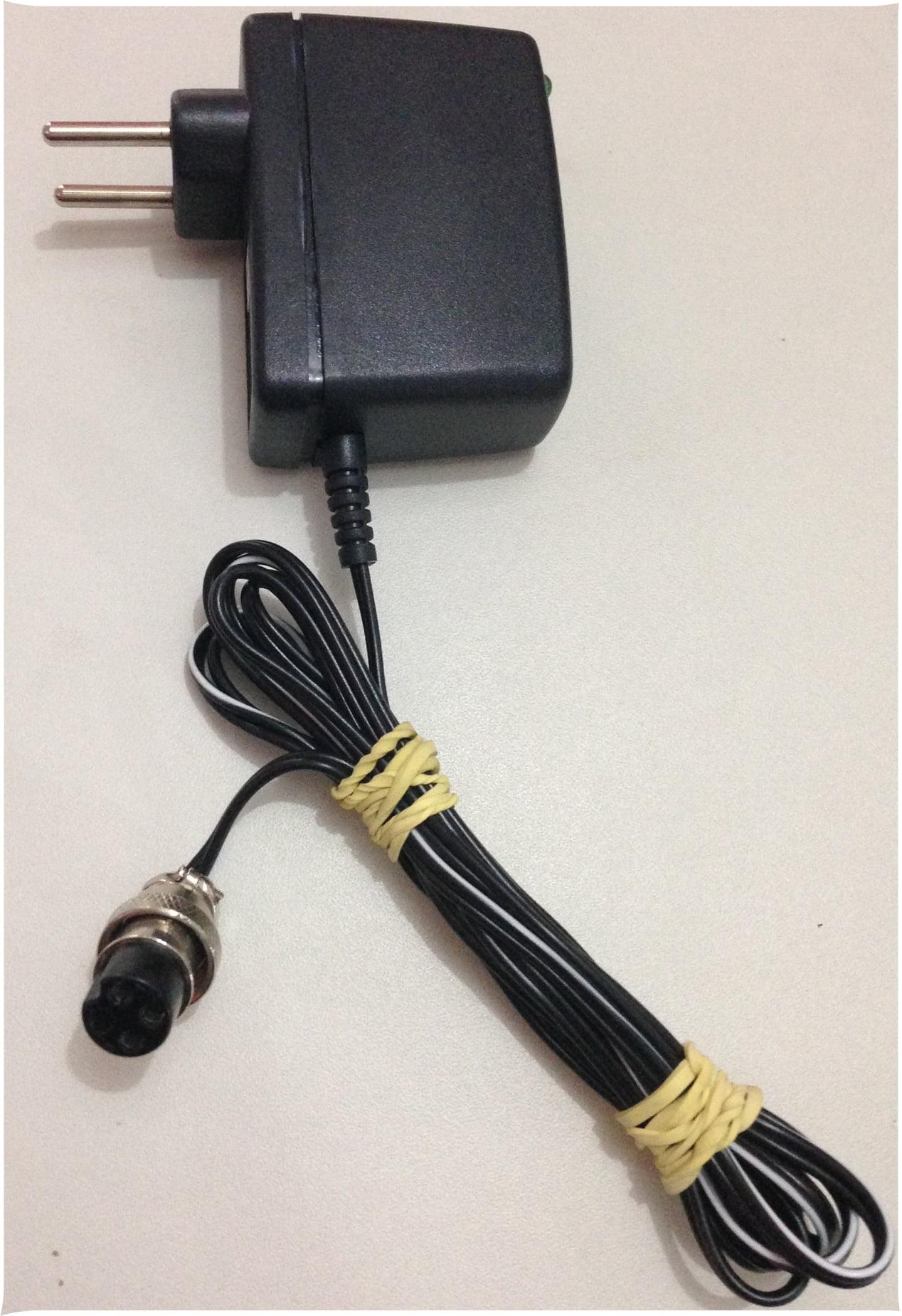 Carregador de Baterias 90 a 227 Vca para TTR 2000 e DMG INSTRUM com conector de 05 pinos