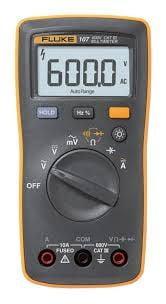 Multímetro c/Teste de Diodo FLUKE 107