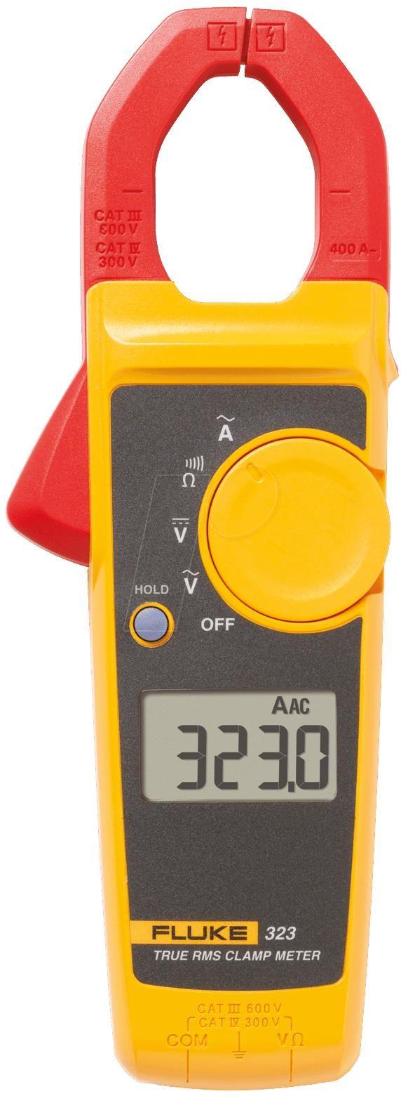 Alicate Amperímetro 400 A AC True RMS FLUKE 323