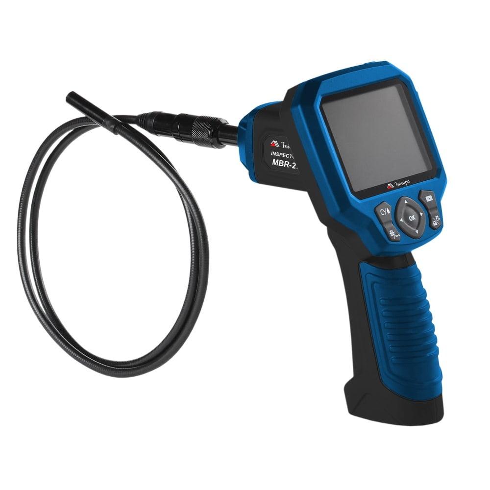 "Boroscópio MBR-270G (1mt/9mm) Display LCD 2,7"" / Interface RCA e USB / Fotografa e Filma"