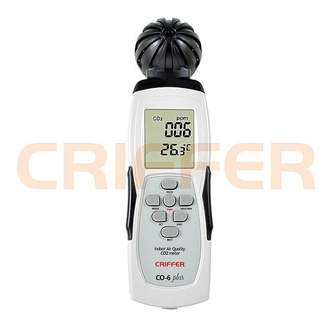 CO-6 Plus Medidor Dióxido de Carbono Com Datalogger (CO2)