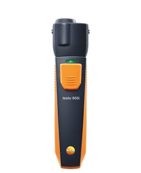 TESTO 805i Pirômetro Óptico p/medir Temperatura operado por Smartphone