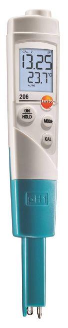 TESTO 206 PH1 para Medição de PH1 / Temperatura líquidos