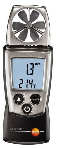 TESTO 410-1 Anemômetro de Hélice - Linha Pocket
