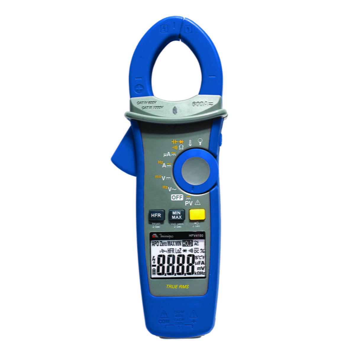 Alicate Amperimetro Digital para Painel Solar 1500V AC HFV4100 - MINIPA