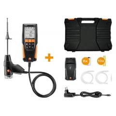 kit TESTO 310 com impressora - kit analisador de gases de combustão com impressora  [