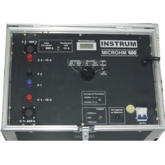 Micro-Ohmímetro Digital 600A Modelo: MICROHM-600 Marca: INSTRUM
