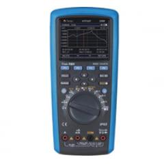 Mutímetro Digital 4.5/6 dig. Gráfico/ True RMS AC+DC/CAT IV / Condutância/ Cap./ Freq./Res./ Duty Cycle/ LPF/FPF/ Trend Capture/ Memória/USB ezGraph MINIPA
