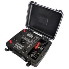 Micro-Ohmímetro e Ponte Kelvin Digital 10A Marca: INSTRUM Modelo: MICROHM 10i
