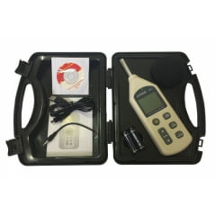 Decibelímetro, Medidor de nível sonoro com datalogger, modelo: KR843, Marca: AKROM