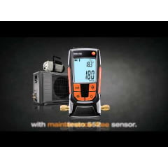 TESTO 552 Medidor Digital de Vácuo c/ bluetooth