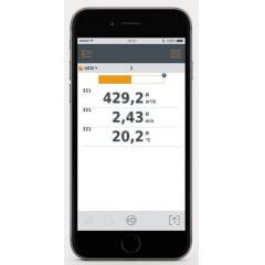 TESTO 405i Termo-Anemômetro mede velocidade do ar, temperaturas e volume de fluxo