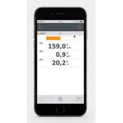 TESTO 410i Anemômetro Molinete p/medir Velocidade do ar e Temperatura em Saídas de ar