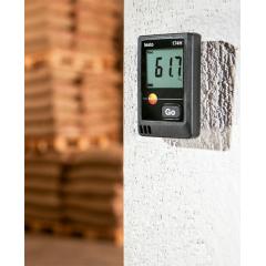 TESTO 174H Kit Datalogger p/Medição de Temperatura e Umidade 2 canais com Interface de comunicação USB