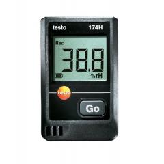 TESTO 174H Datalogger p/Medição de Temperatura e Umidade 2 canais
