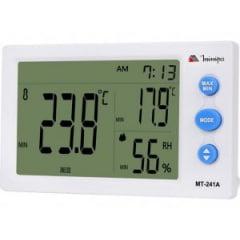 Relógio Termo-Higrômetro Int. MT-241 A MINIPA